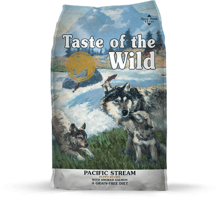 Taste of the wild Pacific Stream Puppy Formula